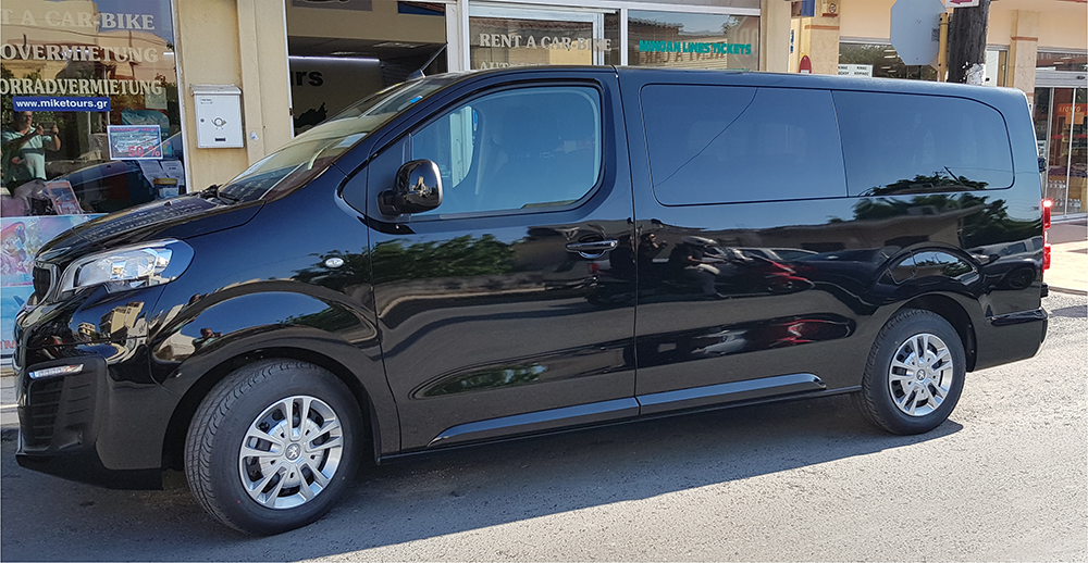 mini bus rental crete